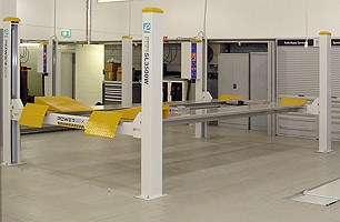 Car hoists, lifts and jacking systems