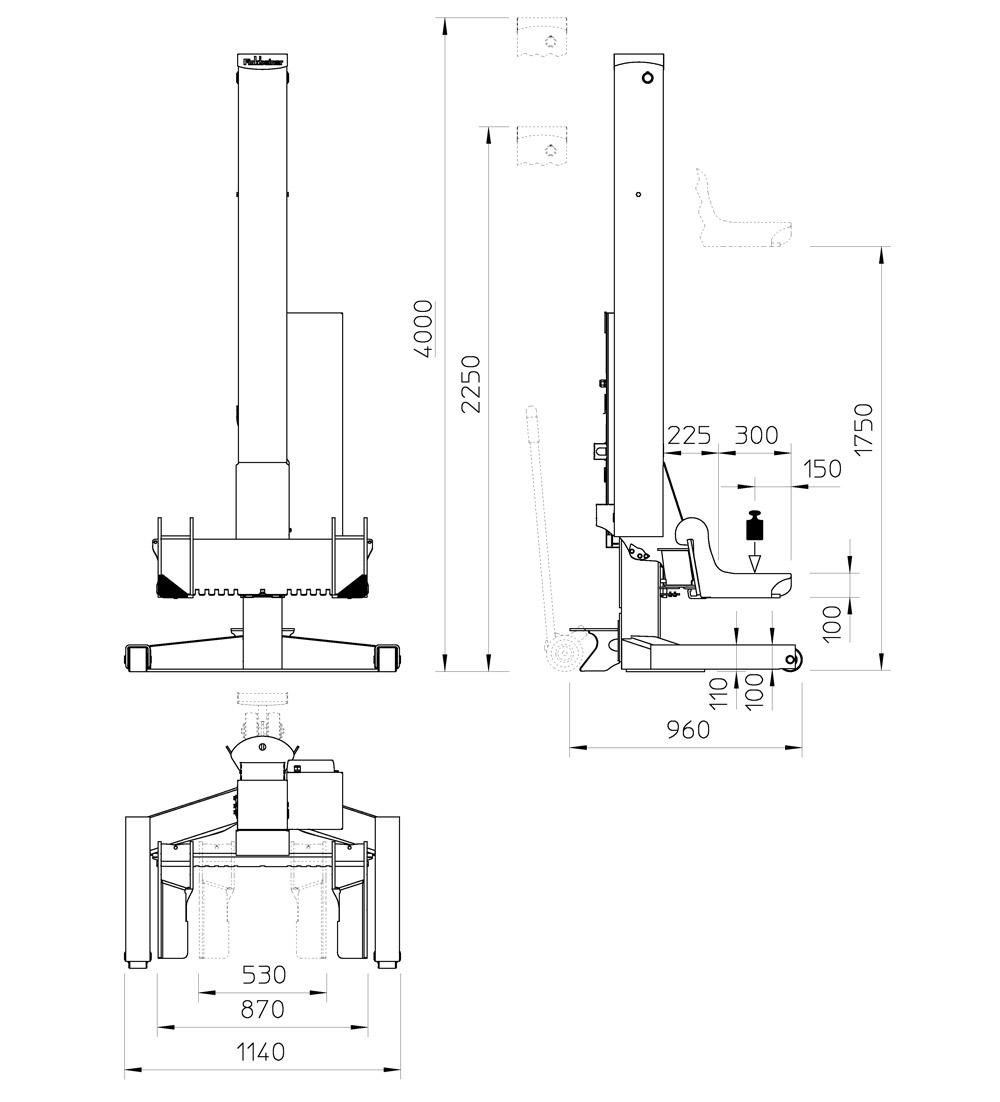column lift ehb1005