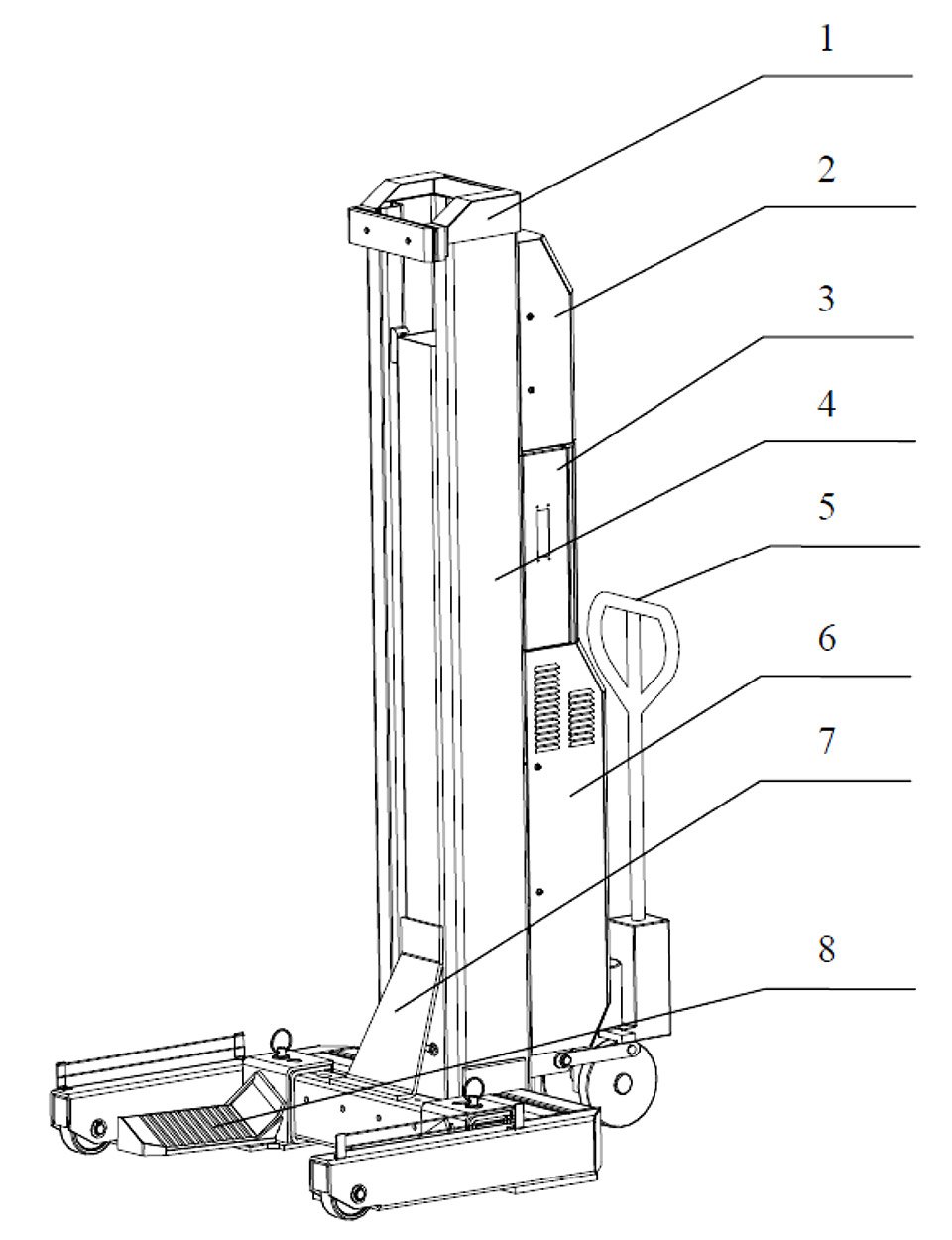 forcelift column hoist