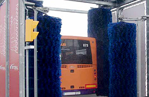 Bus wash machine 4PX