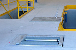 Prefabricated drop in pits truck bus workshops hartex for Prefabricated fire pits